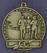 223 cross country male medal