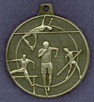 242 track and field medal